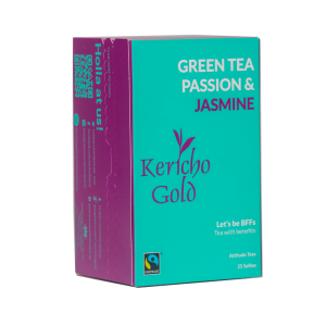 Kericho Gold Green Tea - Passion and Jasmine - 25Teabags