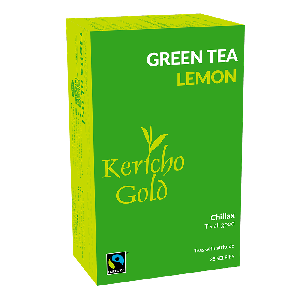 Kericho Gold Green Tea - Lemon - 25Teabags
